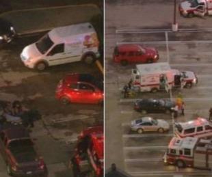 foto: Tiroteo en un centro comercial: afirman que hay siete heridos