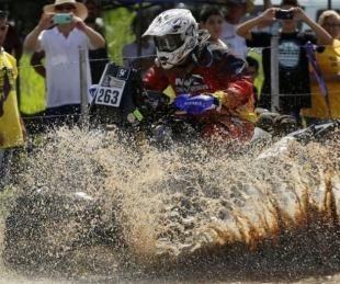 foto:  Automovilismo: Pablo Copetti, tercero en cuatriciclos