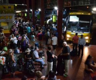 foto: Pese al aumento hubo alta demanda de pasajes en la terminal