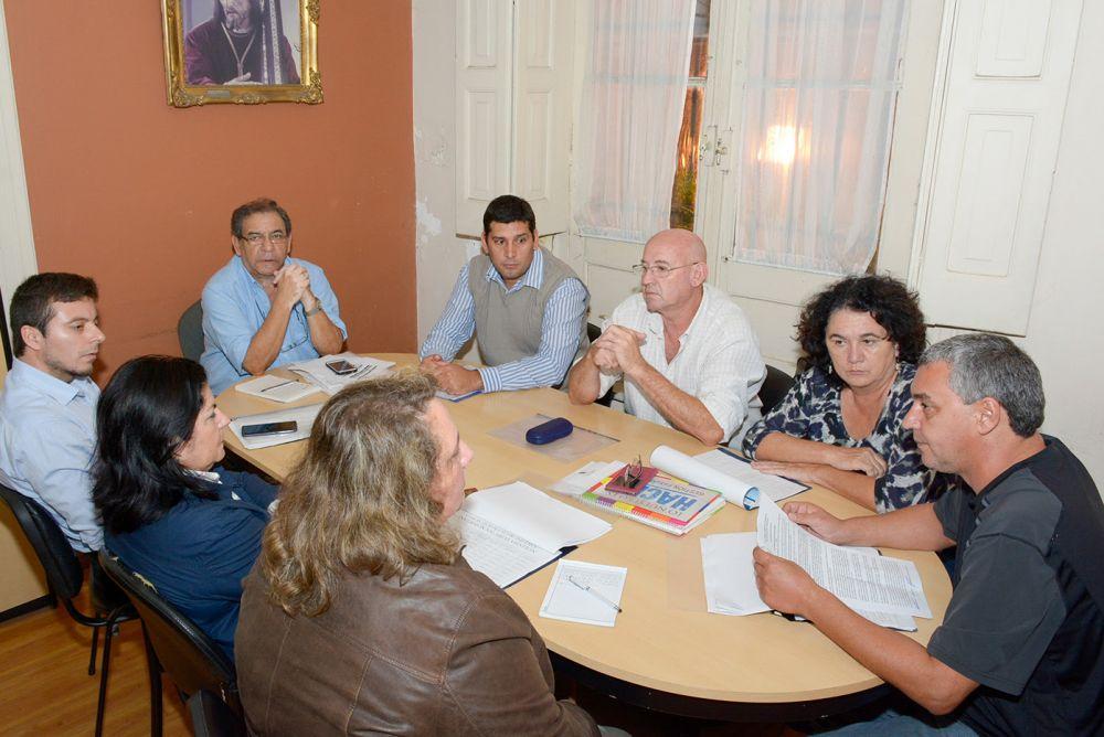 foto: Se reactivó la Mesa Paritaria de la Municipalidad de Corrientes