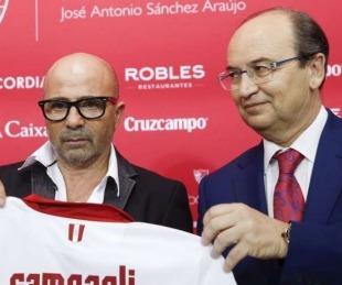 foto: El Sevilla confirmó que la AFA le ofreció la Selección a Sampaoli