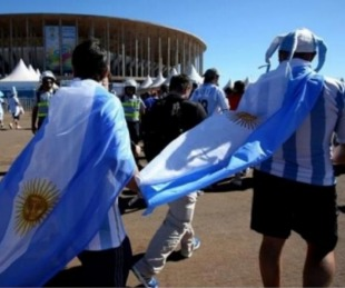 foto: La FIFA volvió a sancionar a la AFA por cantos discriminatorios