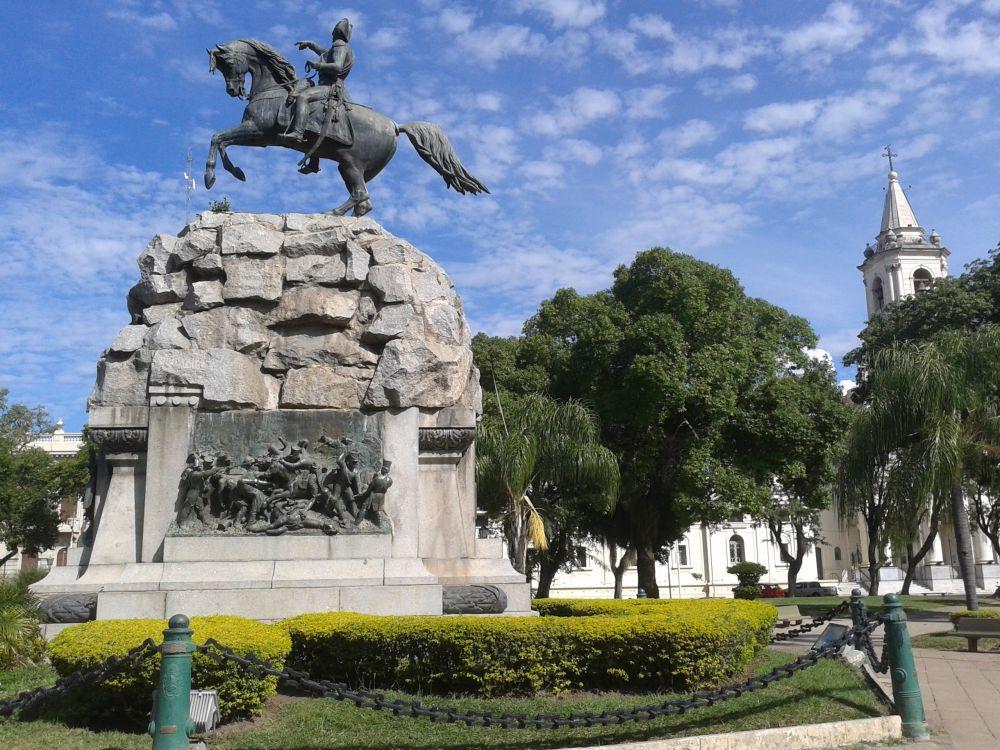 foto: La plaza representa la historia de la arquitectura de la Ciudad