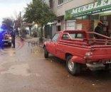foto: Motociclista murió tras chocar contra una camioneta estacionada