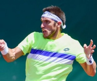 foto: Leo Mayer, el finalista argentino del ATP de Hamburgo