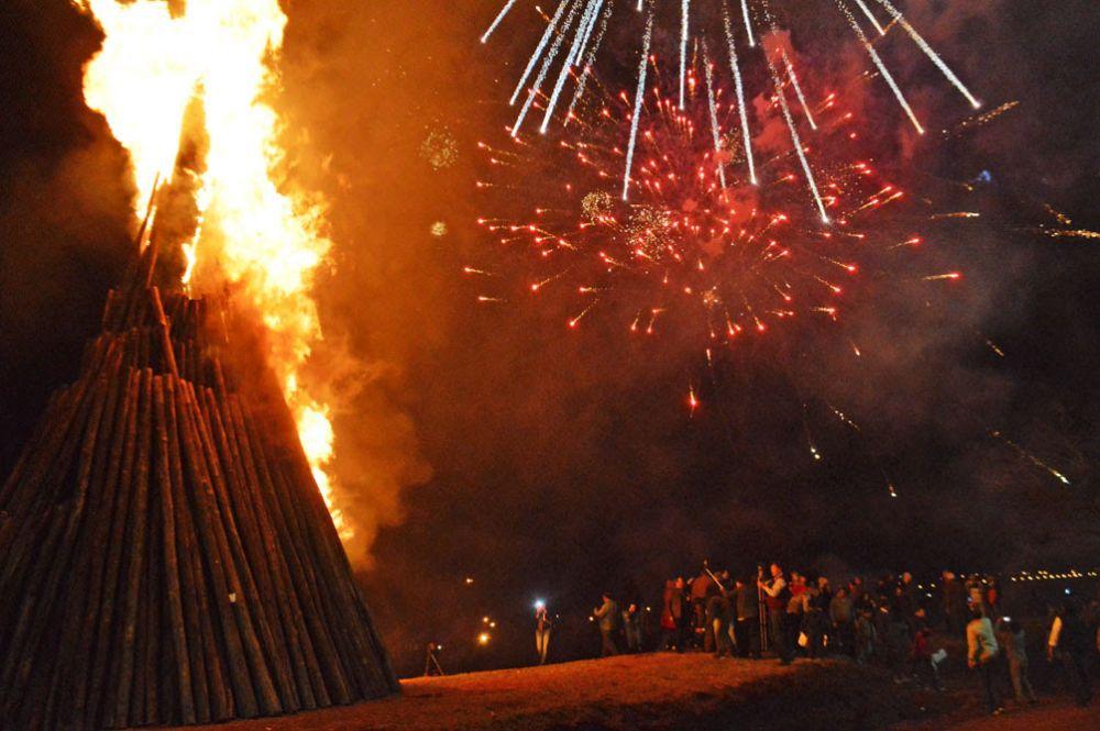 foto: Colombi inauguró el XIX Festival Internacional del Guiso