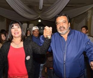 foto: Cassani presentó fórmula municipal Vicente Romero-Vicenta Sena