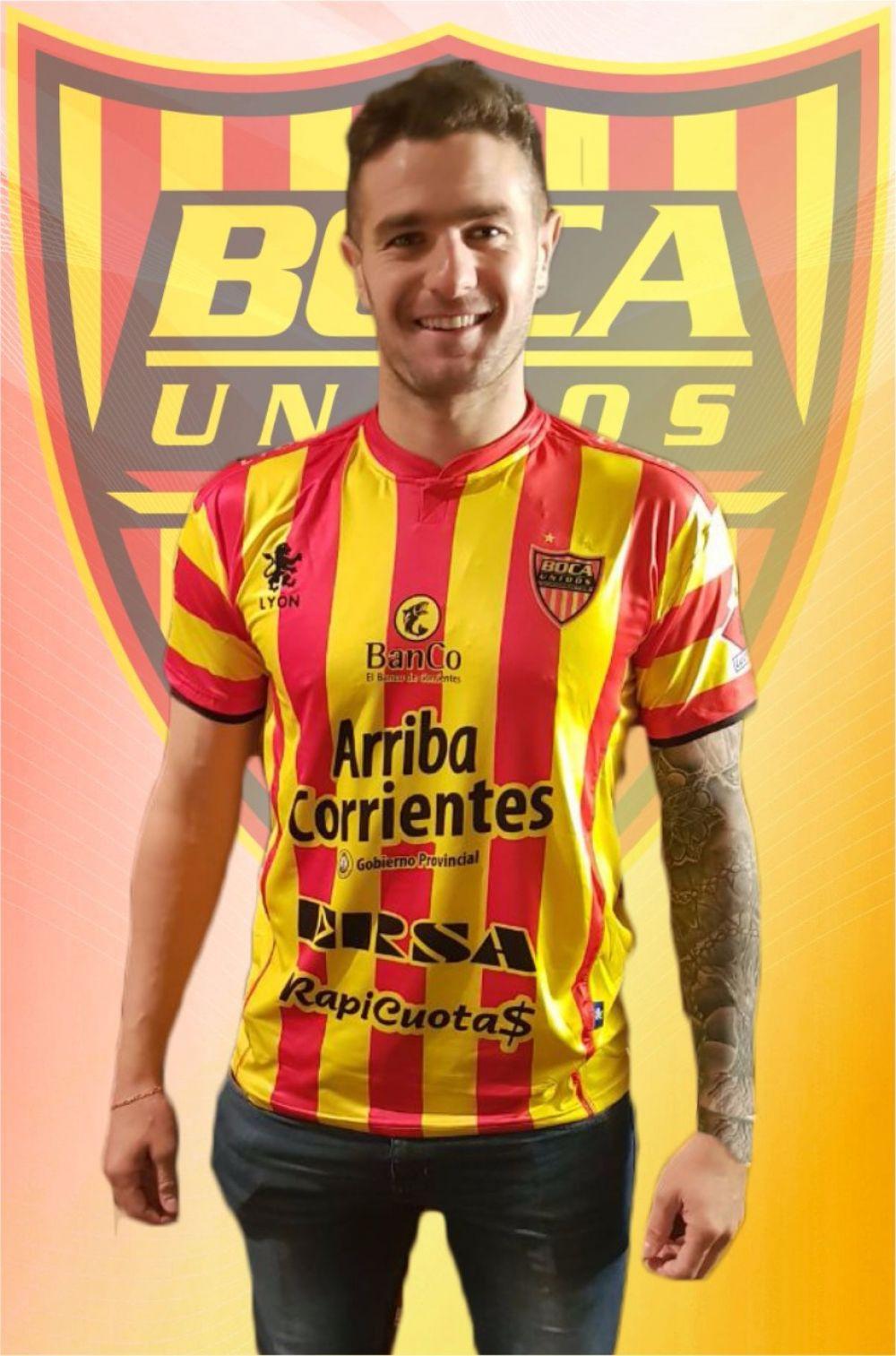 foto: Pablo Vegetti llegó a Corrientes y se suma a Boca Unidos