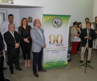 foto: Provincial inauguró la Sala de Cirugía del  Hospital Vidal