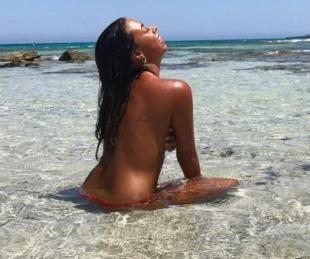 foto: La sensual modelo que Dybala conquistó