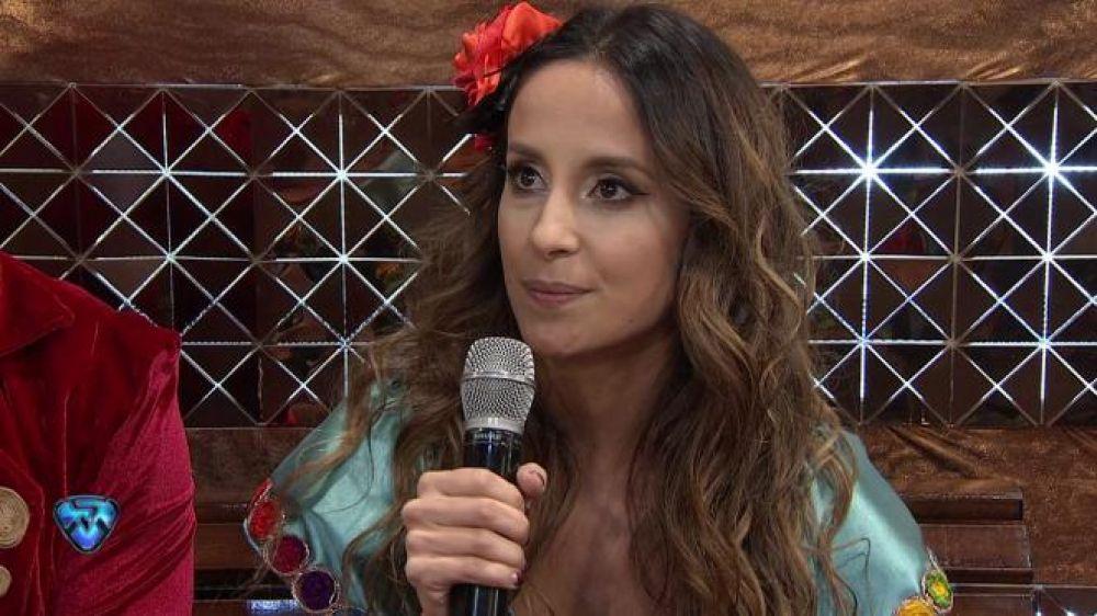 foto: Lourdes Sánchez habló de los rumores de embarazo