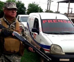 foto: Muerte de la joven de 15: allanan viviendas en La Vizcacha y Patono
