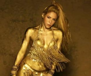foto: Shakira da un adelanto de los movimientos que usará en su gira