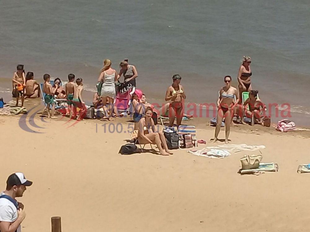foto: Este sábado se habilitarán sólo 500 metros de Playa Arazaty