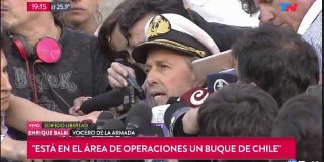 foto: La Armada detectó un nuevo ruido e investigan si se trata del submarino ARA San Juan