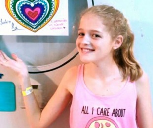 foto: Falleció Justina Lo Cane, la nena que esperaba un corazón