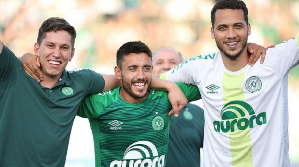 foto: Milagrosa clasificación a la Copa Libertadores de Chapecoense