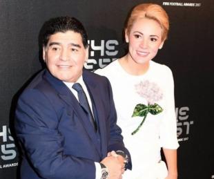 foto: Maradona habló sobre su ausencia a la boda de Dalma