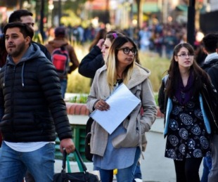 foto: El desempleo bajó a 7,2% en el último trimestre de 2017