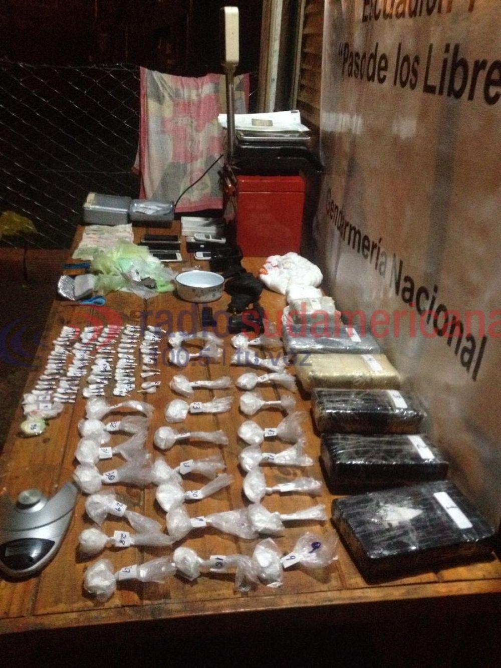 foto: Desarticularon un bunker de droga que vendía cocaína al menudeo