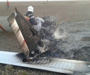 foto: Tragedia en Chubut: caminó 7 kilómetros para pedir ayuda