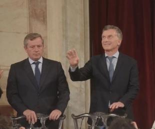 foto: Monzó le comunicó a Mauricio Macri que no renovará su banca en 2019