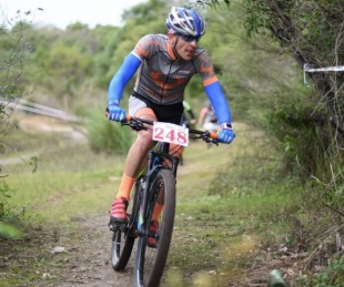 foto: San Cayetano fue escenario del Campeonato Mountain Bike
