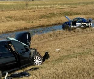foto: Atropellan a seis policías en la autopista Córdoba-Rosario