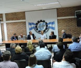 foto: FECORR recibió a Eduardo Tassano y su gabinete municipal
