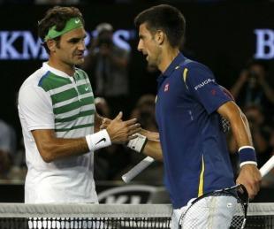 foto: Roger Federer-Novak Djokovic, final del Masters 1000 de Cincinnati