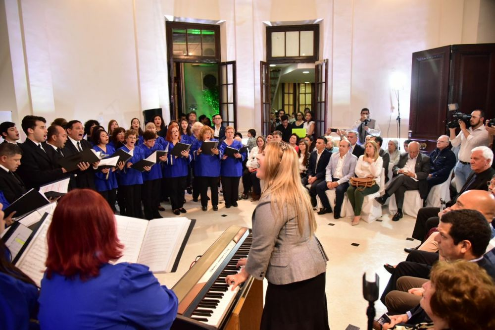 foto: Legislatura abrió sus puertas al arte joven y a la música