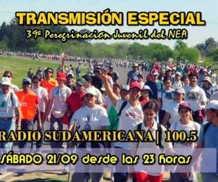 foto: Mega transmisión de Sudamericana en la 39º Peregrinación a Itatí