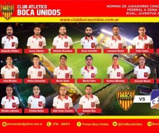 foto: Boca Unidos defiende la punta ante Juventud Antoniana este domingo