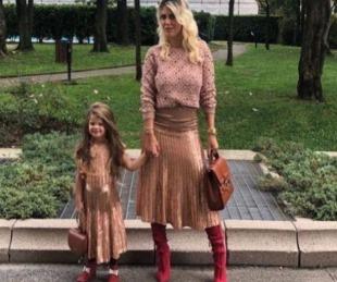 foto: Wanda vistió a su hija de
