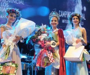 foto: La Fiesta Provincial del Estudiante coronó reina a Catherine Gómez