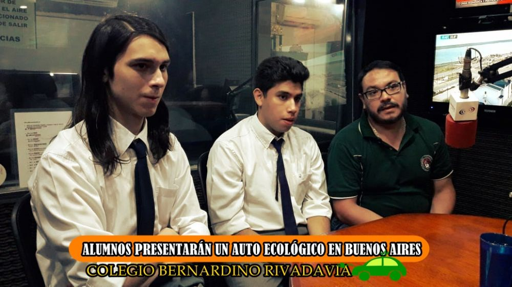 foto: Alumnos de la Bernardino Rivadavia presentarán un auto ecológico
