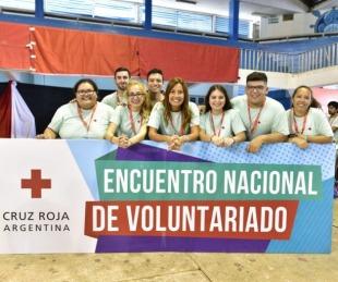 foto: Inició el Encuentro Nacional de Voluntarios de Cruz Roja Argentina