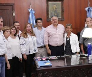 foto: Autoridades del Partido Autonomista visitaron a
