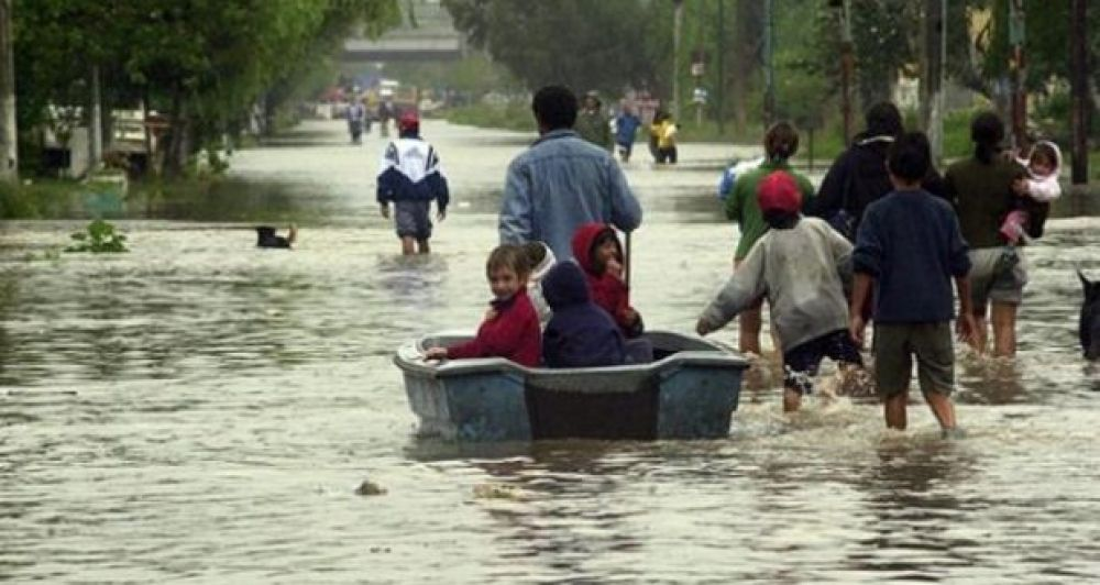foto: Pronóstico nada alentador: Llevan 405 mm. acumulados de lluvia