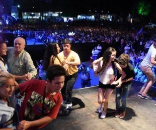 foto: Grilla de la sexta noche de la Fiesta Nacional del Chamamé