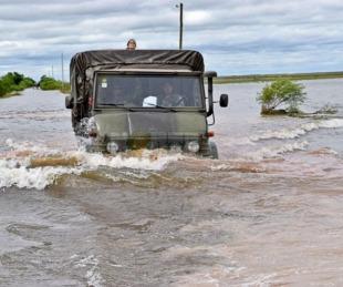 foto: Provincia envió ayuda a San Isidro para asistir a familias afectadas