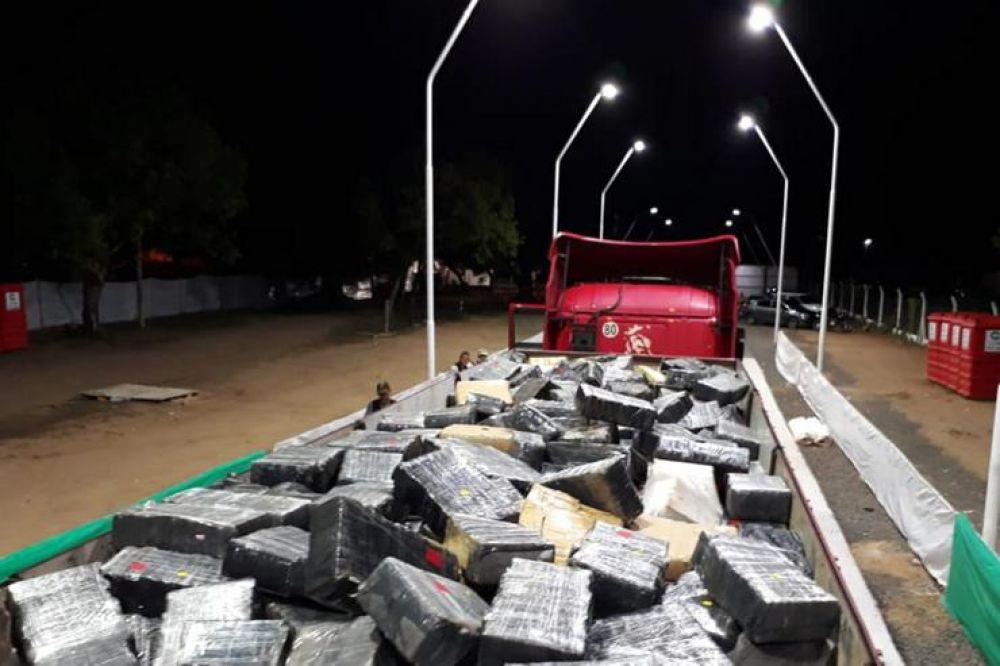 foto: Histórico: Así se secuestró la carga de casi 10 toneladas de droga