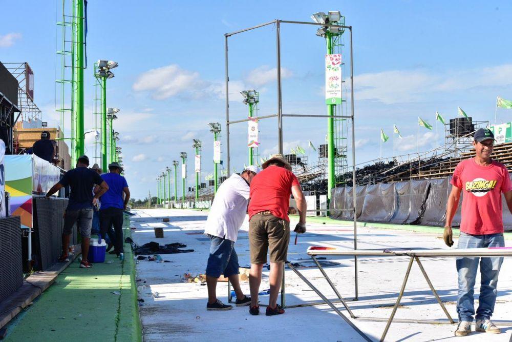 foto: Después de la tormenta: mañana estará al 100% el Corsódromo