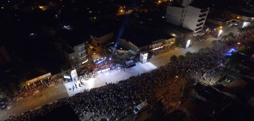 foto: Más de 100 mil personas pasaron por los carnavales barriales