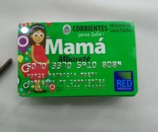 foto: Goya: entregaron Tarjetas Mamá Mbareté a más de 200 beneficiarias