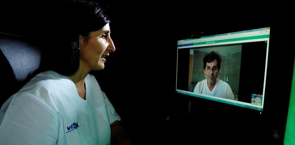 foto: La telemedicina es habitual, se instaló en la comunidad médica