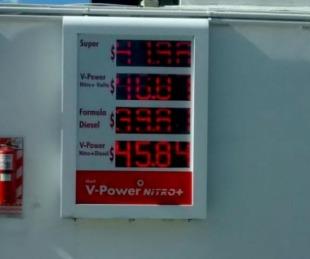 foto: Así quedó el valor de los combustibles de la bandera Shell