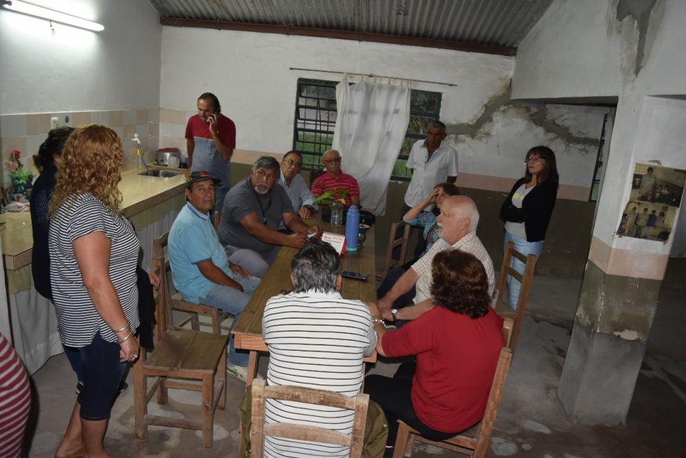 foto: El Intendente Osella se reunió con vecinos del B° 25 de Mayo