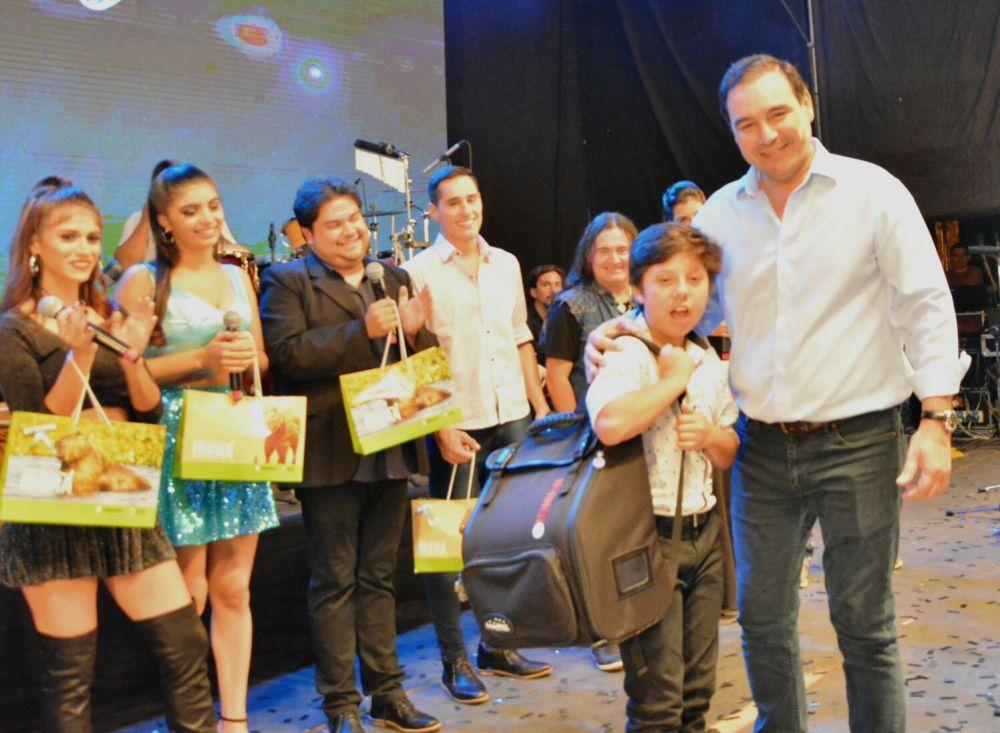 foto: Valdés acompañó el esperado evento Las Voces en Corrientes