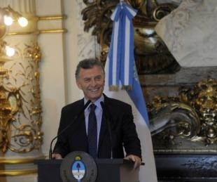foto: Macri anuncia acuerdos de precios y una ley con más controles